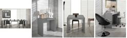 VIG Furniture Modrest Morph - Modern Ultra-Compact Extendable Gloss Dining Table