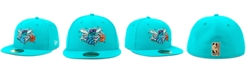New Era Charlotte Hornets Hardwood Classic Nights 59FIFTY Fitted Cap