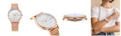 RUMBATIME Lafayette Rose Gold Mesh Women's Watch