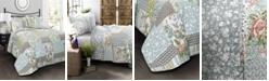 Lush Decor Roesser 3-Pc Set Full/Queen Quilt Set