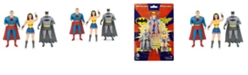 DC Comics NJ Croce Mini 3 Pack of Figures Batman, Superman, Wonder Woman