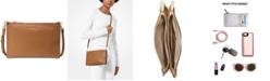 Michael Kors Pebble Leather Double Pouch Crossbody