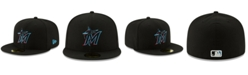 New Era Miami Marlins Authentic Collection 59FIFTY Fitted Cap
