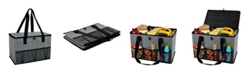 Picnic At Ascot Collapsible Storage Container, Organizer with Lid - Home or Auto