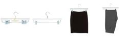 Simplify 3 Pack Deluxe Non-Slip Roller Hangers