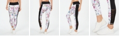 Ideology Candice Floral-Print Leggings, Created for Macy's