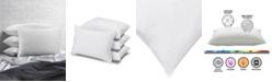 Ella Jayne Cotton Blend Superior Down -Like SOFT Stomach Sleeper Pillow - Set of Four - Queen