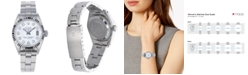 Pre-Owned Rolex Women's Stainless Steel Bracket Watch with Mother of Pearl Dial, 26mm