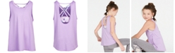 Ideology Big Girls Plus-Size Layered-Look Tank Top, Created for Macy's