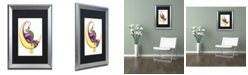 "Trademark Global Jennifer Nilsson Make a Wish - Dragon Matted Framed Art - 11"" x 14"" x 0.5"""