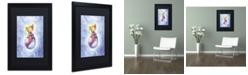 "Trademark Global Jennifer Nilsson Sea Snuggles Matted Framed Art - 16"" x 20"" x 0.5"""
