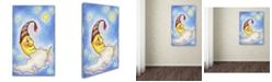 "Trademark Global Jennifer Nilsson Sweet Dreams to You Canvas Art - 11"" x 14"" x 0.5"""