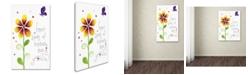 "Trademark Global Jennifer Nilsson Seeds of Kindness Canvas Art - 11"" x 14"" x 0.5"""