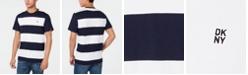 DKNY Men's Striped T-Shirt