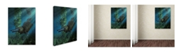 "Trademark Global Daniel Eskridge 'Platypus' Canvas Art - 19"" x 14"" x 2"""
