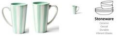 Coton Colors by Laura Johnson Mint Stripe Mug