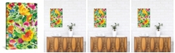 """iCanvas """"July Bouquet"""" By Kim Parker Gallery-Wrapped Canvas Print - 18"""" x 12"""" x 0.75"""""""