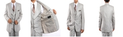 Tazio Shawl Collar Classic Fit 2 Button Vested Suits for Boys