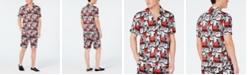 INC International Concepts I.N.C. Men's Trax Comic Camp Shirt, Created for Macy's