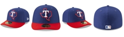 New Era Texas Rangers Batting Practice Low Profile 59FIFTY-FITTED Cap