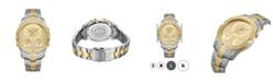 Jbw Men's Jet Setter III Diamond (1 ct.t.w.) Stainless Steel Watch