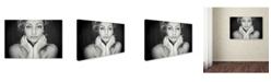 "Trademark Global Oren Hayman 'Freckles' Canvas Art - 24"" x 16"" x 2"""