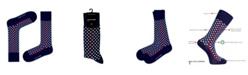 Love Sock Company Men's Dress Socks - Red Line