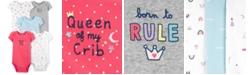 Carter's Baby Girls 5-Pk. Cotton Bodysuits