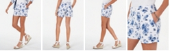 Tommy Hilfiger Printed Soft Shorts, Created for Macy's