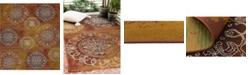 Bridgeport Home Pashio Pas2 Rust Red 10' x 12' Area Rug