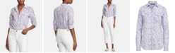 Lauren Ralph Lauren Floral-Print Cotton Voile Shirt