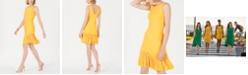 Adrianna Papell Drop-Waist Pleated Dress