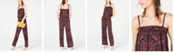 INC International Concepts INC Petite Paisley-Print Jumpsuit, Created for Macy's