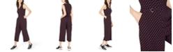 Michael Kors Printed Cropped Jumpsuit