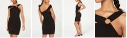City Studios Juniors' One-Shoulder Bodycon Dress