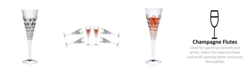 Lorren Home Trends Enigma Collection Flutes - Set of 6