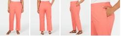 Alfred Dunner Plus Size Coastal Drive Straight-Leg Pants