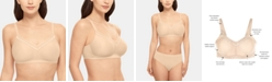 Wacoal Women's Perfect Primer Wire Free Bra 852313, Up To DDD Cup