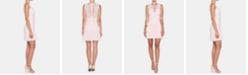 Bardot Francesca Ruffled Lace Sheath Dress