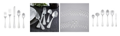 RiverRidge Home Riverridge Marina 46 Piece Monogrammed Flatware Set - C, Service for 8