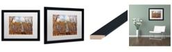 "Trademark Global Jason Shaffer 'Beaver Creek 8' Matted Framed Art - 20"" x 16"""