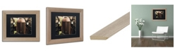 "Trademark Global Jason Shaffer 'Case' Matted Framed Art - 14"" x 11"""