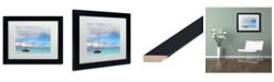 """Trademark Global Jason Shaffer 'Hawaii 3' Matted Framed Art - 14"""" x 11"""""""