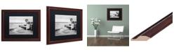 """Trademark Global Jason Shaffer 'Lake Erie' Matted Framed Art - 20"""" x 16"""""""