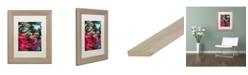 """Trademark Global Jason Shaffer 'Maple' Matted Framed Art - 11"""" x 14"""""""