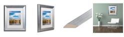 """Trademark Global Jason Shaffer 'Morgan Street 5' Matted Framed Art - 11"""" x 14"""""""
