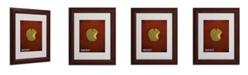 """Trademark Global Christian Jackson 'Snow White' Matted Framed Art - 14"""" x 11"""""""