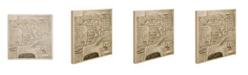 "Trademark Global Pierre Mortier 'Map of Trento 1704' Canvas Art - 35"" x 35"""
