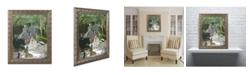 "Trademark Global Monet 'Dejeuner sur l'Herbe Chailly' Ornate Framed Art - 16"" x 20"""