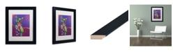 """Trademark Global Dean Russo 'Drummer' Matted Framed Art - 11"""" x 14"""""""